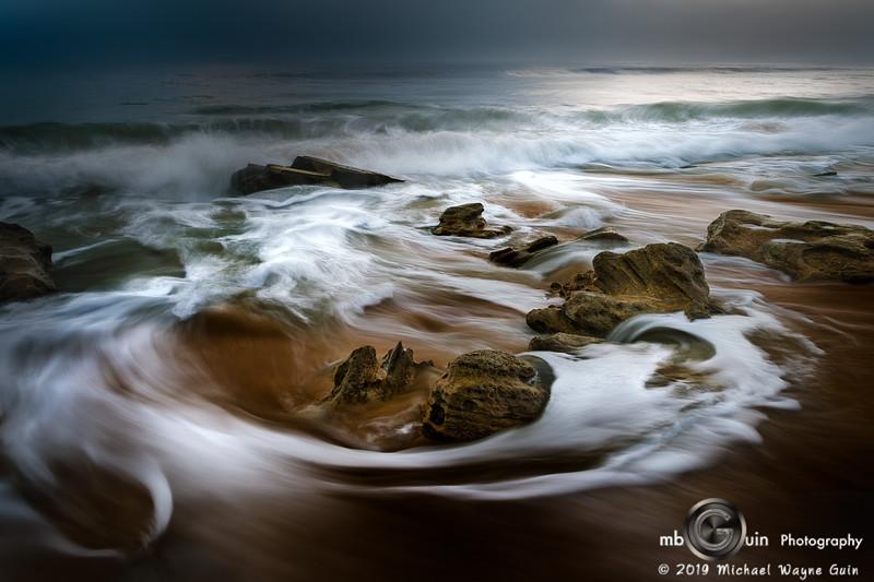 Flagler Rocks in the Surf