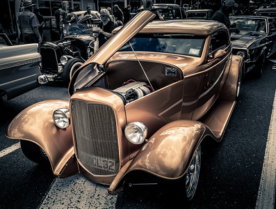 Custom rod Ford Vintage
