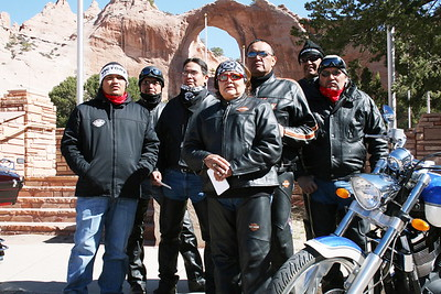Benefit Motorcycle Run for Norman Begay