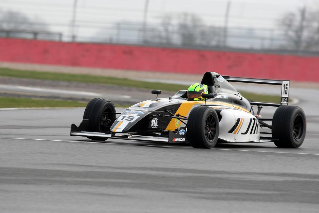 MSA Formula Testing Silverstone, Northants, March 16thth 2015 ©Paul Davies Photography 2015 Mandatory Credit: Paul Davies/Paul Davies Photography