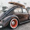 Vintage Surf VW Cox © 2018 Olivier Caenen, tous droits reserves