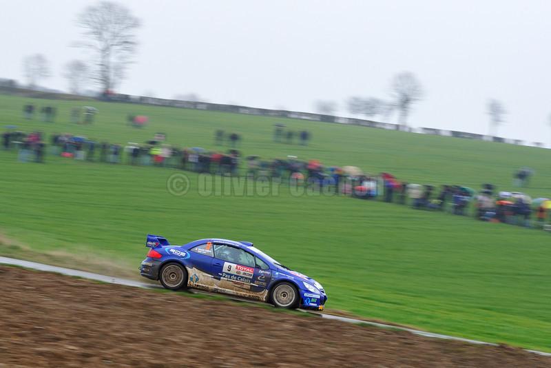 9-BAUD Lionel-CRAEN Fabien-PEUGEOT 307 WRC-RALLYE DU TOUQUET 2012_13
