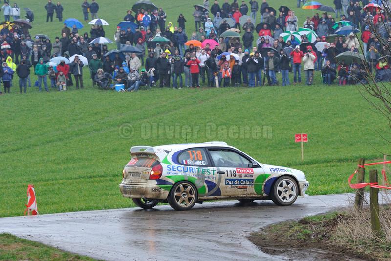 118-BAYARD Laurent-BRIGAUDEAU Loïc-TOYOTA Corolla WRC- RALLYE DU TOUQUET 2012_004