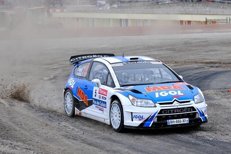 5-SNOBECK Dany-MONDESIR Gilles-CITROEN C4 WRC-RALLYE DU TOUQUET 2012_005