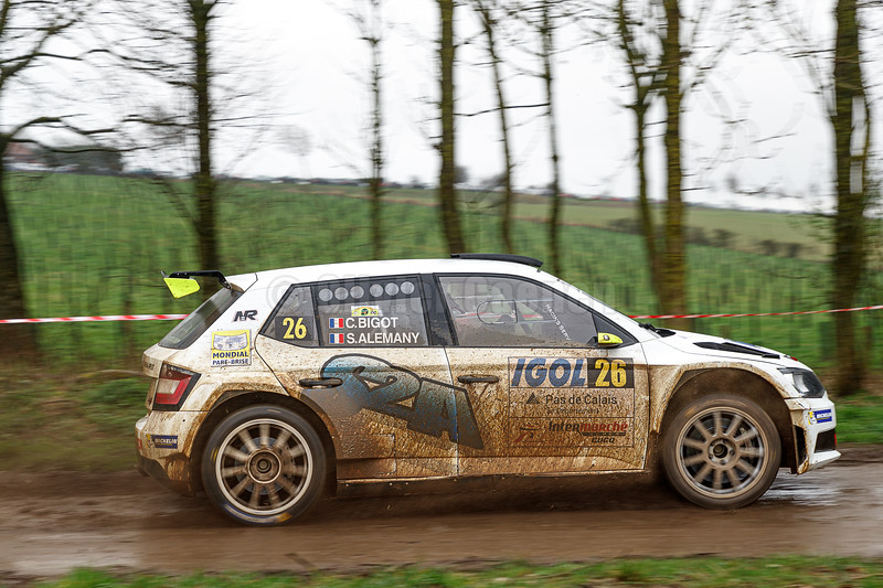60éme Rallye du Touquet / ES 13 Bimont-Clenleu © 2020 Olivier Caenen, tous droits reserves
