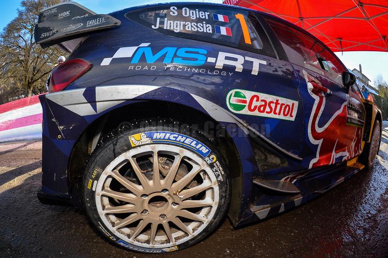 ogier s ingrassia j (fra) ford fiesta RS WRC+ n°1 2017 RMC (JL)-023
