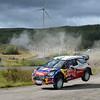 LOEB Sebastien (F)-ELENA Daniel (MC)-Citroen DS3 WRC_Wales Rally GB 2012 _040