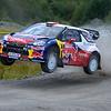 LOEB Sebastien (F)-ELENA Daniel (MC)-Citroen DS3 WRC_Wales Rally GB 2012 _036
