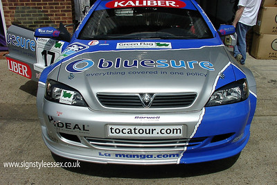 Graphics for Barwell Motorsport Vauxhall Touring Car driven by Tom Chilton