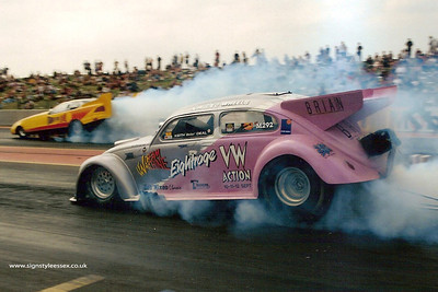 Eightrage VW Funny Car of Brian Burrows