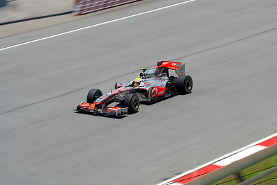 Lewis Hamilton during 3rd practice session