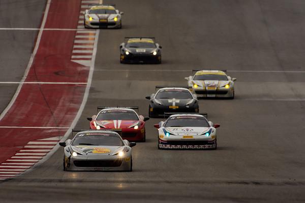 Ferrari Challenge - COTA 2016