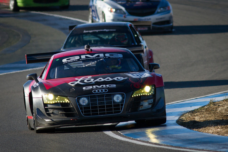 GMG Motorsports Audi R8 took 3rd place in ES class with 662 laps.