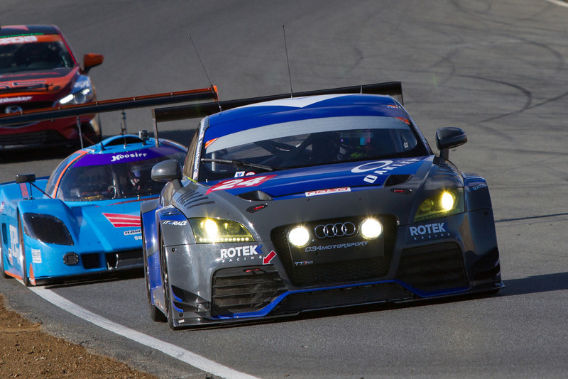 Rotek Racing Audi TT RS won the top ES class.