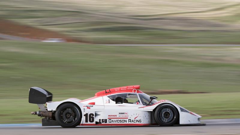 Davidson Racing's Eagle going through Turn 11.