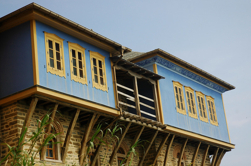 View from Pantokratoros monastery..