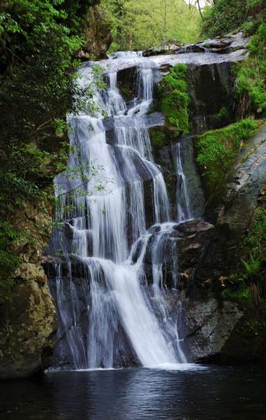 Waterfall near Filotheou monastery..