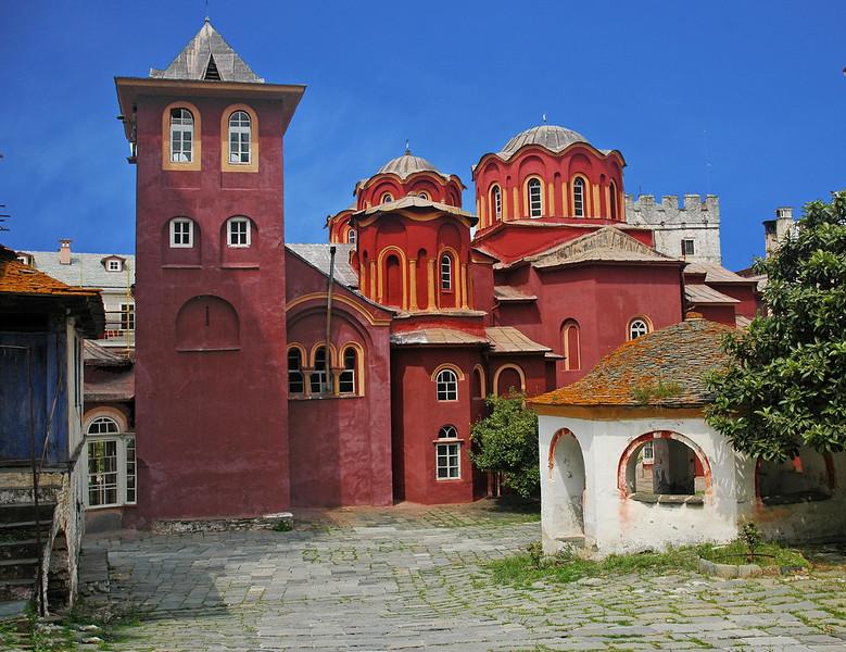 The church of  Vatopediou monastery..