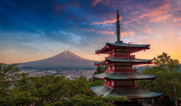 Fuji And The Magic Hour