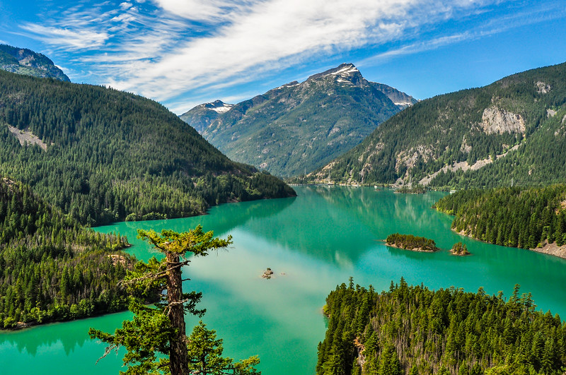 An Emerald Lake