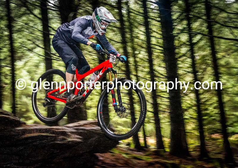 Flying on Hot Stepper, Bike Park Wales