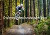 Jumping at Bike Park Wales.