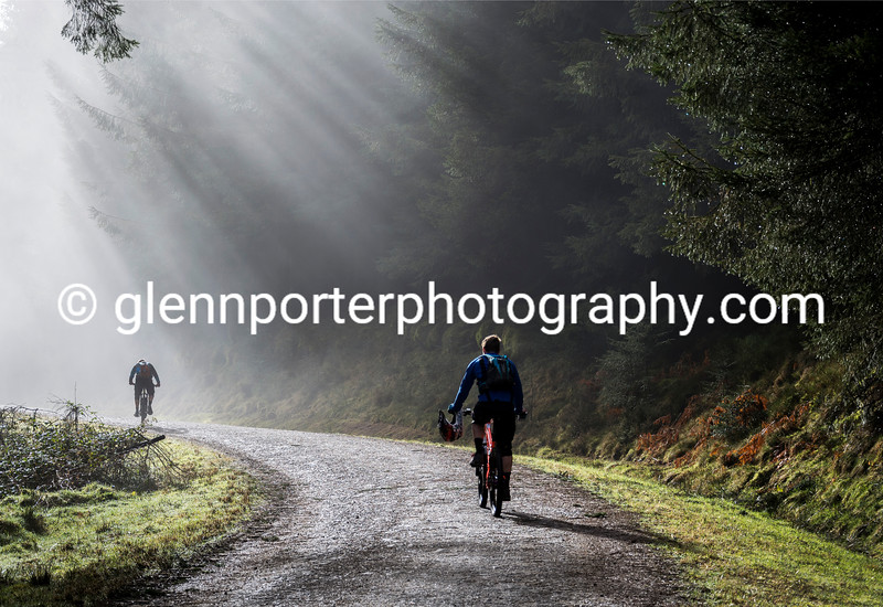 A morning bike ride at Bike Park Wales.