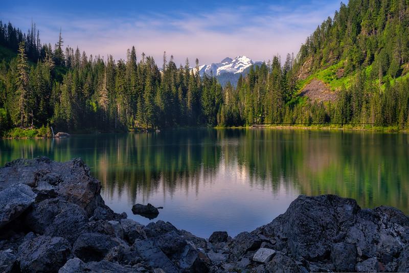 Lake 22 Evening Reflections