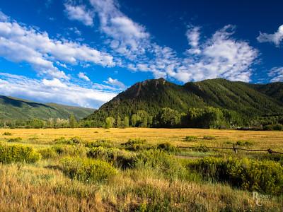 Aspen Mountain Summer Skies