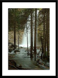 Troll Falls Ref #0595-N Photo © LenScape Photography
