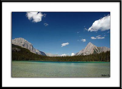 Watridge Lake and Cone Mountain  Ref #2190-N Photo © LenScape Photography
