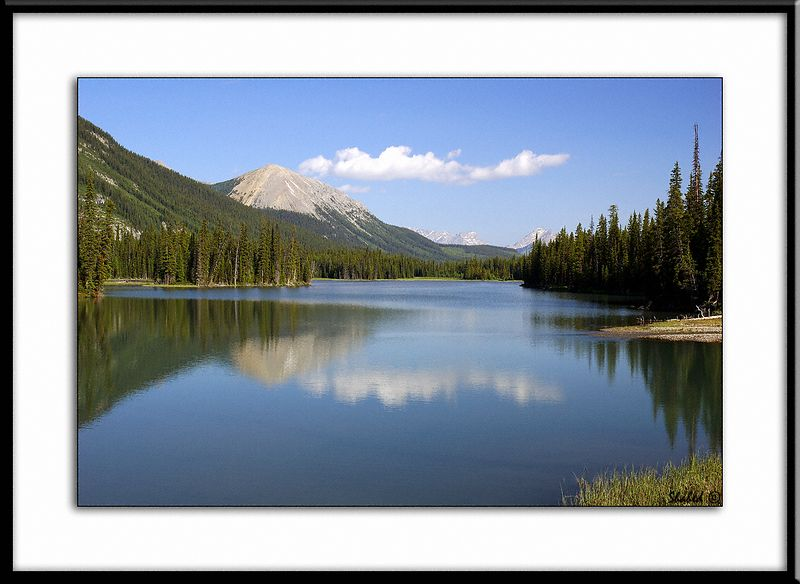 """Mud Lake. K.Country, Alberta, Canada.  Ref #2105-N <span id=""""caption""""><div class=""""photocredit"""">Photo © LenScape Photography</div></span>"""