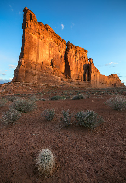 Courthouse Mesa Sunrise, Arches National Park, UT