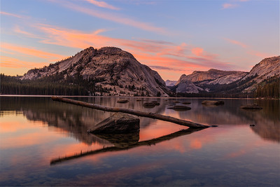 Tenaya Lake Sunset