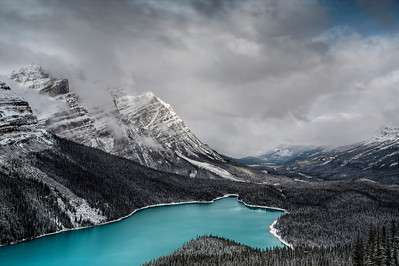 Peyto Lake, Alberta Canada  Shot with Digital