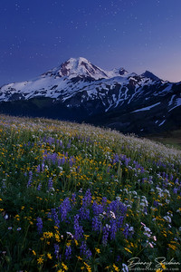 Twilight at Mt. Baker