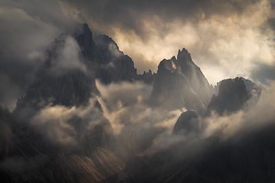 Montagna di Nebbia