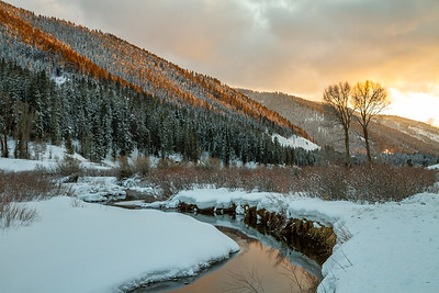 Pine Creek Sunset
