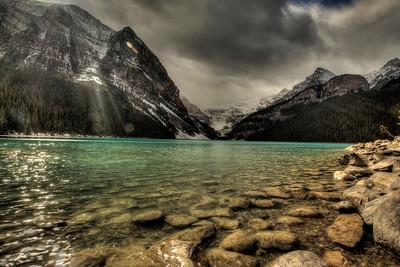 Lake Lousie, Alberta Canada  Shot with Digital