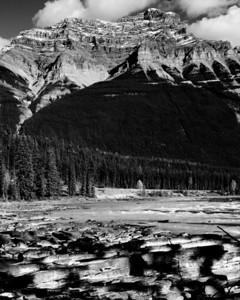 Mt. Kerkeslin and Athabasca River