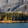 Autumn at Upper Kananaskis Lake
