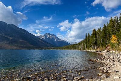 Mt Moran From Jenny Lake