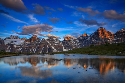 Valley of the Ten Peaks Banff National Park, Alberta, Canada