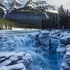 Athabasca Falls in Ice
