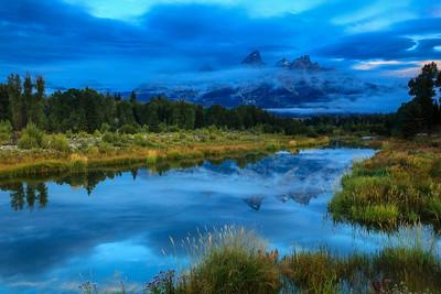 Misty Morning Grand Teton National Park, Wyoming