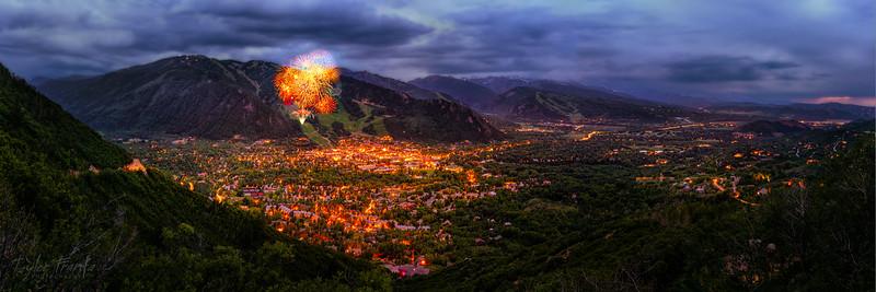 Fireworks Over Aspen