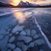 Icy Footprint