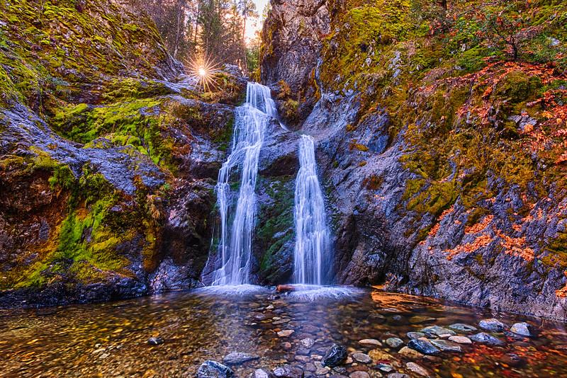 Faery Falls at High Noon,  19-November-2020