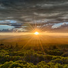 Shasta Valley Sunset, 20-June-2018