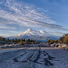 Old Hwy 97 and Mt. Shasta
